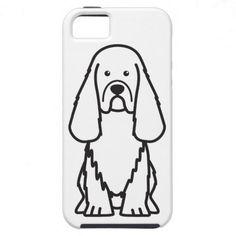Sussex Spaniel Dog Cartoon iPhone 5 Cases