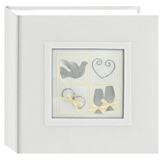 Pioneer Photo Albums 100Pocket Fabric Cover with Framed 3D Wedding Embellishments Album for 4 by 6Inch Prints Bird ** Learn more by visiting the image link.Note:It is affiliate link to Amazon.