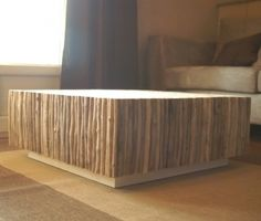 1000 images about table basse on pinterest tables zen - Table basse bois flotte ...
