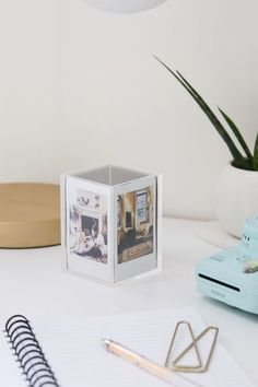 Shop Instax Mini Cube Picture Frame at Urban Outfitters today. Discover more selections just like this online or in-store. Shop your favorite brands and sign up for UO Rewards to receive 10% off your next purchase! Mini Picture Frames, Hanging Picture Frames, Hanging Pictures, Instax Frame, 4 Image, Diys, Mini Christmas Ornaments, Christmas Gifts, Photo Cubes