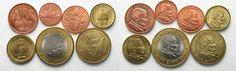 2000 Vatikan - Proben VATICAN set 1 Euro, 50, 20, 10, 5, 2, 1 Cent 2000 ECCO L'EURO BU SCARCE! # 95406 BU (MS65-70)
