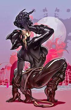 Catwoman art by Pant Batman DC Comics Comic Book Artists, Comic Book Characters, Comic Character, Comic Books Art, Comic Art, Batman 1, Batgirl, Comics Anime, Cartoons