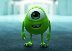 My reaction when my wife walks into the bedroom in new lingerie. <--- dont know how i feel about someone compairing monsters university and sex...