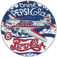 Pepsi-Cola Porcelain Signs | Metal Signs Direct