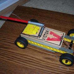 Do you need to make a Mousetrap car for science class? Do you have some Lego's around the house that aren't being used? Do you have 10 minutes of free time? Well this simple design will leave you with a quick accelerating, compact mousetrap car that will beat the competition.