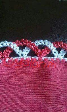 Crocheted edge