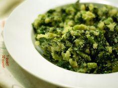 Stamppot (potato & kale hash)