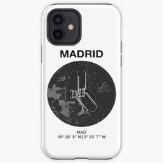 Madrid, Designs, Iphone Cases, Iphone Case, I Phone Cases