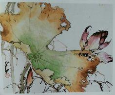 Bay Area Art Quake: Visiting the Asian: Chao Shao-an Japanese Painting, Chinese Painting, Japanese Art, Sumi E Painting, Art Chinois, Lotus Art, Tinta China, Korean Art, China Art