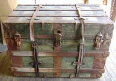 Antique steamer trunk - Wikicollecting