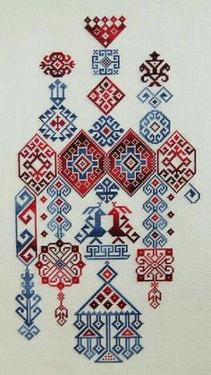 "Embroidery Stitches Designs studiomsk: "" Getting hot on embroidery. Folk Embroidery, Ribbon Embroidery, Cross Stitch Embroidery, Embroidery Patterns, Cross Stitch Patterns, Machine Embroidery, Geometric Embroidery, Blackwork, Bordado Popular"