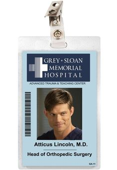 Grey Anatomy Quotes, Greys Anatomy Memes, Greys Anatomy Costumes, Greys Anatomy Characters, Greys Anatomy Cast, Grey's Anatomy Hospital, Memorial Hospital, Meredith Grey, Atticus