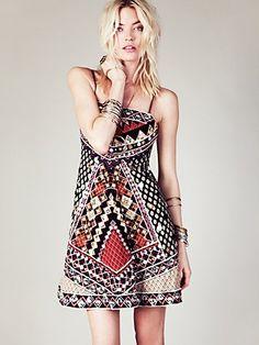 Free People Mirror Maze Dress