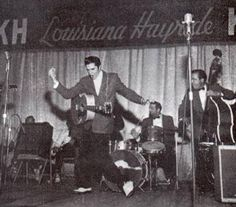 Dec 15, 1956 – 59 years ago today, ELVIS PRESLEY gave his final performance on Louisiana Hayride, a live radio program that was broadcast on KWKH in Shreveport, Louisiana. Presley made 50 appearances on the show. At the end of the show, Horace Logan first uttered the now legendary phrase 'Elvis has left the building'.