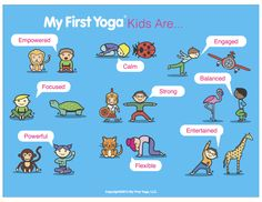 MyFirstYogaKidsAre animals pics                                                                                                                                                     More