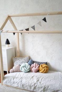 Handmade Soft Cotton Knot Pillows   LululaleShop on Etsy