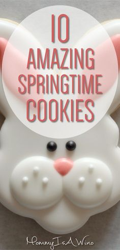 10 Amazing Springtime Cookies - Cookies for Easter - Easter Cookies - Decorated Sugar Cookies