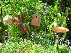Fairy garden accessories.