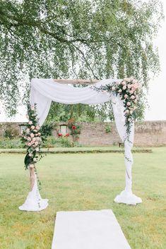 Сладкий амбар свадьбы в Германии - блог BLOVED