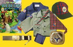 Webelos uniform...last step til Boy Scouting!