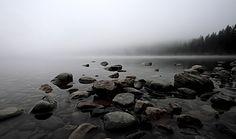 Kintla Lake morning | by Ana June, on Flickr.