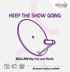 Elivio Recharge Offer | Rs.50 Cashback on DTH Recharge