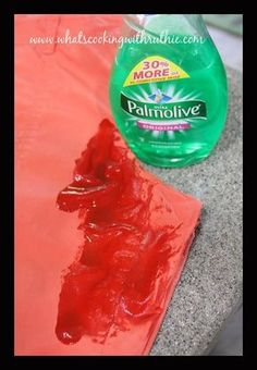 How to get oily stains out of clothes that have been washed and dried several times. . . Palmolive Dish Soap.  Put a fair amount on, rubbing it around to cover the oily stain well and let it soak for ONE HOUR.  Then just throw it in the washer and run a cicle.