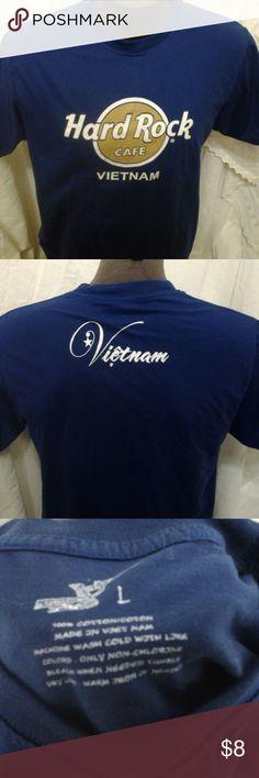 Hard Rock Cafe Vietnam t-shirt Hard Rock Vietnam shirt in good condition no rips no tears hard rock cafe Shirts Tees - Short Sleeve