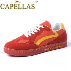 quality design d7ef7 54ae4 CAPELLAS Nowych mężczyzna wiosna buty Nowy trend mężczyzna Brezentowych  butów Mody mężczyzna Przypadkowi buty Oddychające buty