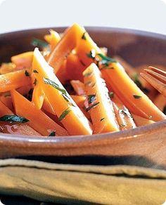 Carote in salsa di marsala e prezzemolo