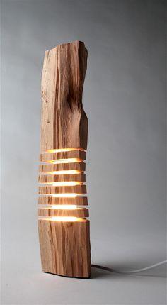 Scultura in legno d'arte scultura minimalista sul di SplitGrain