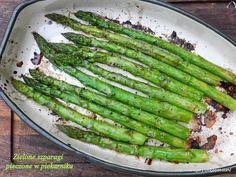 Stare Gary: Zielone szparagi pieczone w piekarniku