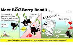 Meet BOO Berry Bandit (BBB): #BooBerryBandit - Love is in the Air