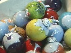 How to Make Clay Ball Ornaments : Archive : Home & Garden Television