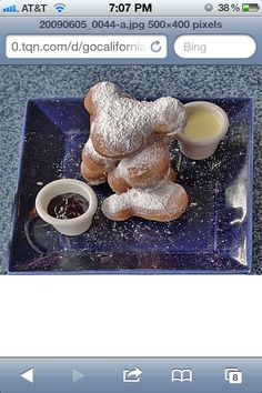 How to make the beingets from Disneyland... So good :-) http://www.just-spotted.com/2011/01/disneyland-beignets/