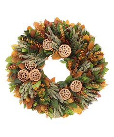Loving this Down Home Charm Collection Wreath on #zulily! #zulilyfinds