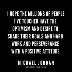 Perseverance & Positive Attitude.   Michael Jordan Quotes / #quote #quotes #motivation #motivational #inspiring #inspiration #inspirational #motivating /  law of attraction quotes  /  money quotes /  abraham hicks quotes /  inspirational spiritual quotes /  what a life quotes /  best quotes abo… • Millions of unique designs by independent artists. Find your thing. Short Inspirational Quotes, Motivational Quotes For Life, Good Life Quotes, Inspiring Quotes About Life, Quotes Motivation, Quote Life, Christine Caine, Isagenix, Agatha Christie