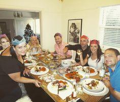 Christmas dinner with all our faves!  #christmas2016 #christmasdinner #thebestfriendsever #somuchlove