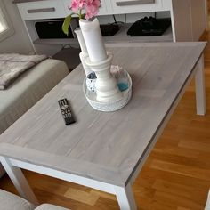 Livingroom table made of scrapwood.   Made by; Trond Olsen