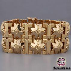 Vintage Signed Retro Bracelet