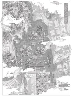 Memory of Spring by Anja Kempa - Drawing & Diagram - Architecture Bartlett School Of Architecture, Architecture People, Architecture Collage, Urban Architecture, Architecture Drawings, Architecture Portfolio, Architecture Graphics, Architecture Visualization, Spring Drawing
