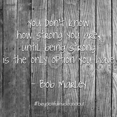 Be strong, you can do it xx Aplastic Anemia, Infj, Wisdom Quotes, You Can Do, Strong, Brainy Quotes, Meaningful Quotes