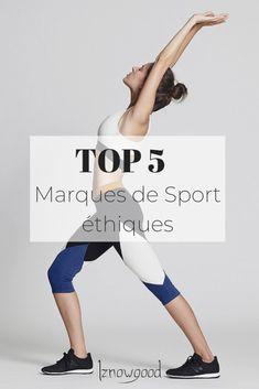 Top 5 des marques de sport éthiques & écoresponsables - Iznowgood