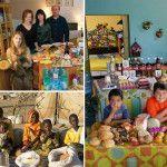 ¿que comen las familias alrrededor del mundo? El fotógrafo Peter Menzel y Faith D'Alusio viajaron a través del mundo para documentar lo que comen las familias de distintos países, continentes y culturas. Cada una de estas imágenes muestra la cantidad de comida que una familia promedio consume semanalmente, así como el dinero que gasta para ello.