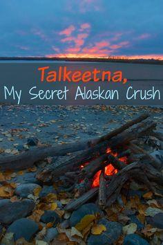 Talkeetna My Secret Alaskan Crush #solotravel #travelalaska #travelblog