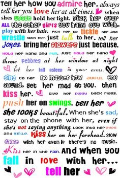 Romantic Quotes to Say to a Girl | Cute Things to Say by MoonLam on deviantART