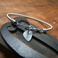 recycled bass guitar string bracelet by bobby rocks | notonthehighstreet.com
