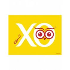 The Chi Omega Hoot Print will brighten up your space. The #XO print will look fabulous in your space and makes for a great gift. #dormify #greek http://www.dormify.com/greek/chi-omega/chi-omega-hoot-print