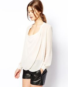 ASOS+Top+with+Detail+Front+and+Drape+Neck