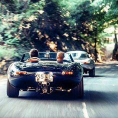 Jaguar E Type. Nice curves.